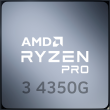 Ryzen 3 PRO 4350G 3.8GHz 4C/8T 65W AM4 APU with Radeon Graphics