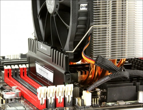 Ideal for PCs with memory modules fitted with large heatsinks