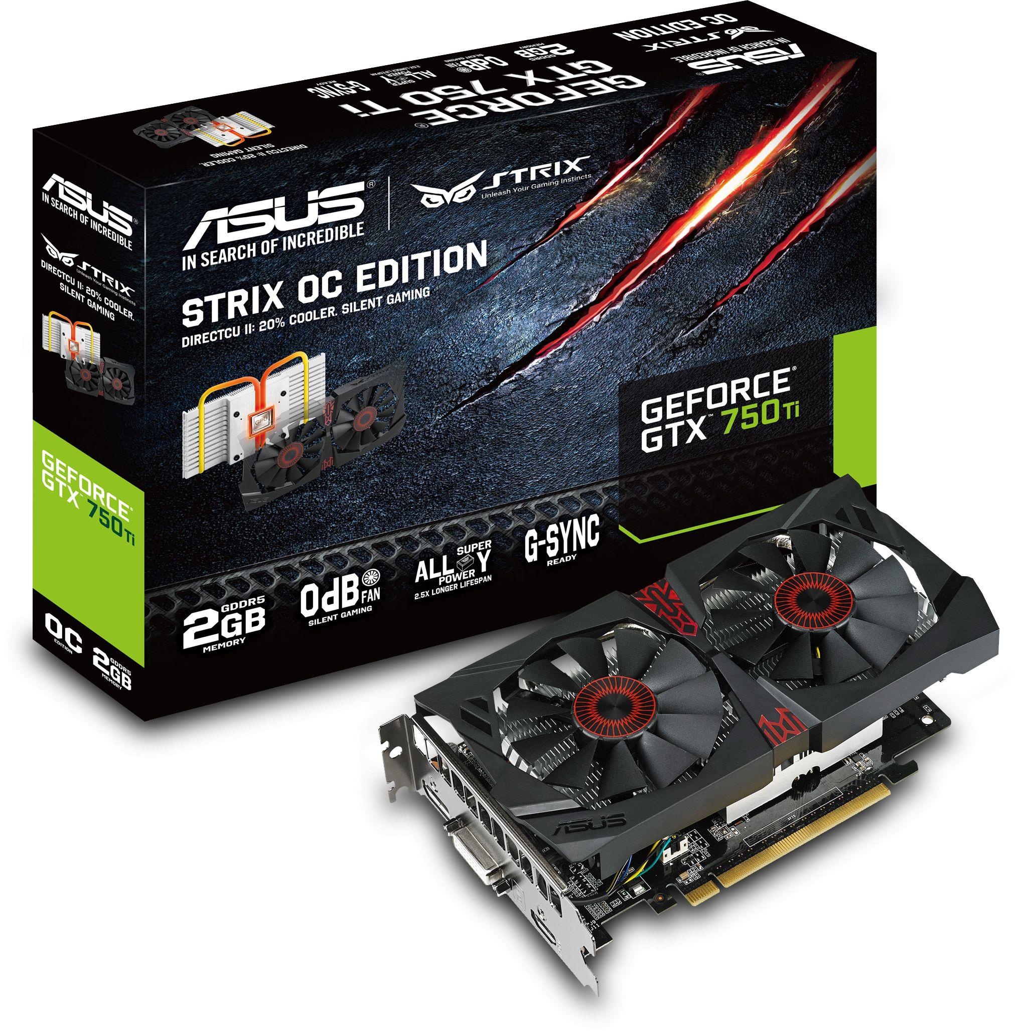 Asus announces geforce gtx 750 ti strix 4gb | techpowerup.