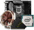 Intel 7th Gen CPU and micro-ATX Motherboard Bundle