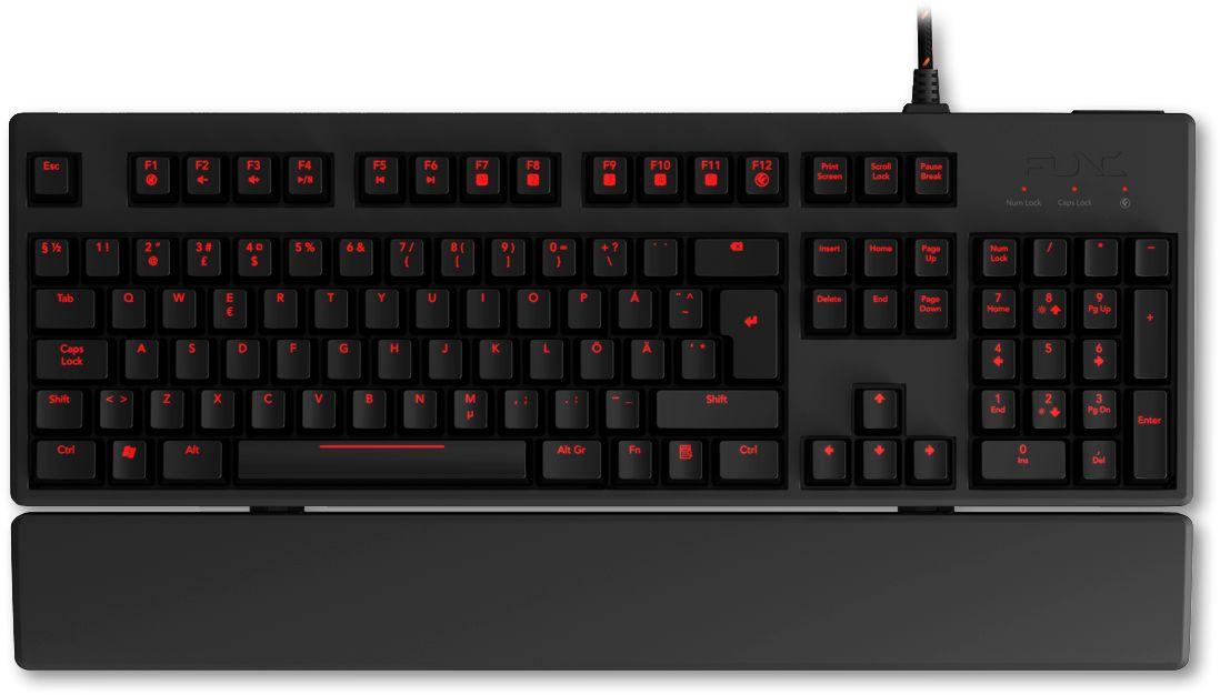 Kb 460 Mechanical Gaming Keyboard Uk Layout
