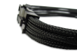 B-Grade Black Braided 6+2-pin PCIe Extension Cable
