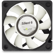 Gelid Silent 6, 60mm Quiet Case Fan