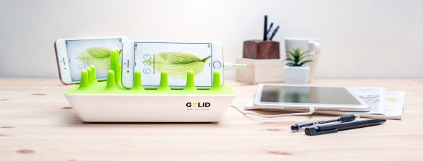 The Gelid Zentree - Flexible USB Docking Station For Phones and Tablets