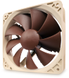 Noctua NF-P12 1300 12V 1300RPM 120mm Vortex-Control Quiet Case Fan