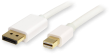 Quiet PC DisplayPort to Mini DP 1m Cable with Locking Connector