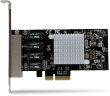 StarTech 4-Port Gigabit Ethernet Network Card - PCI Express, Intel I350 NIC