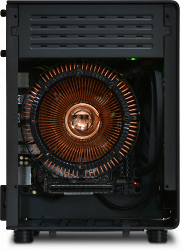 Internal view of the NanoQube Plus AMD
